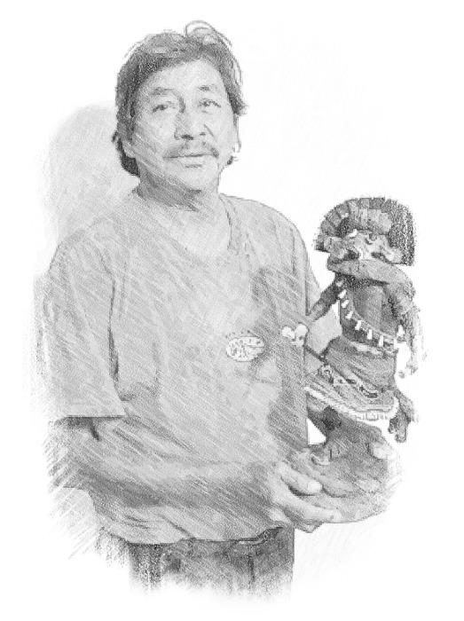 Cecil Calnimptewa, Jr. (b. 1950)