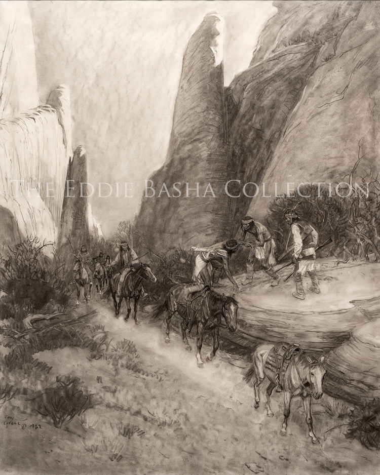 Tom Lovell Drawings Paintings The Eddie Basha Collection