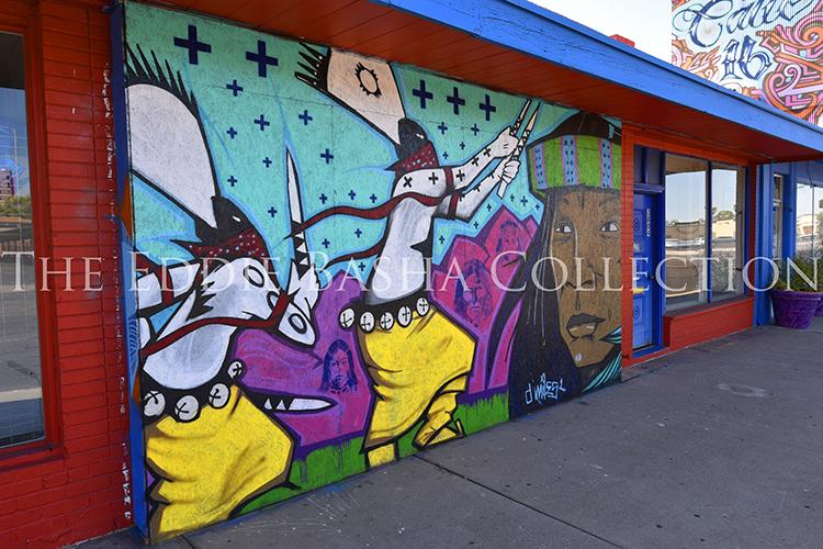 Douglas miles basha for Art miles mural project