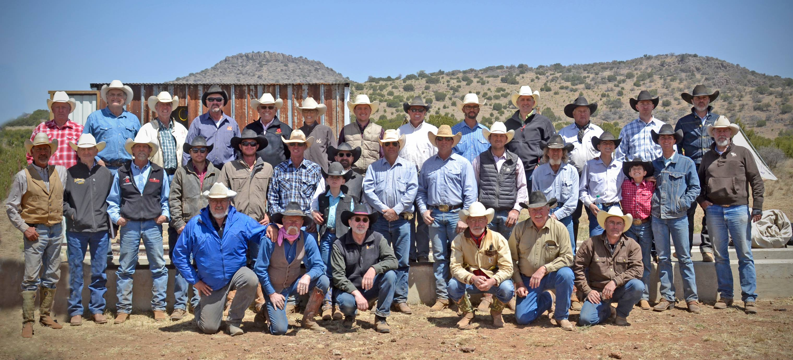 1 CAA Trail Ride, 2018 at 06 Ranch Cowboys