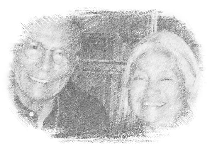 Gail Bird (b. 1949) and Yazzie Johnson (b. 1946)